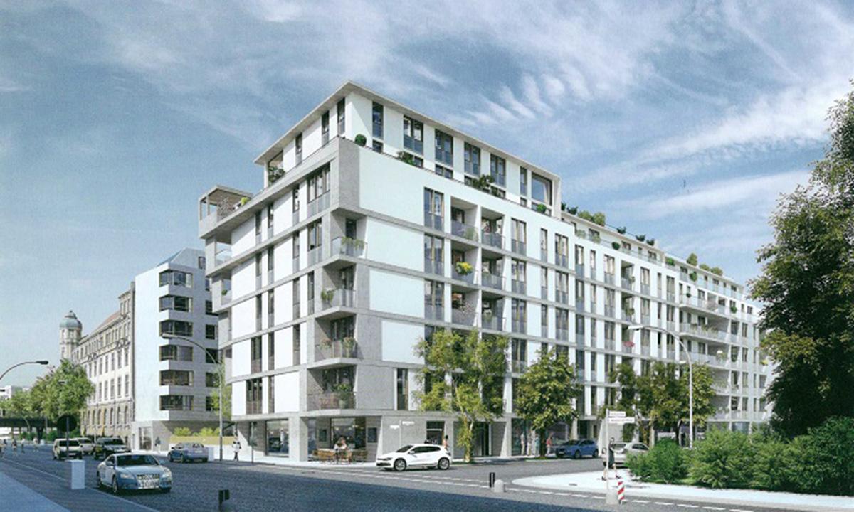 techlogis Ingenieurbüro Berlin Sanitärtechnische Anlagen Gebäudetechnik Wirtschaftlichkeitsberechnung Alexandrinenstraße Wohnungen