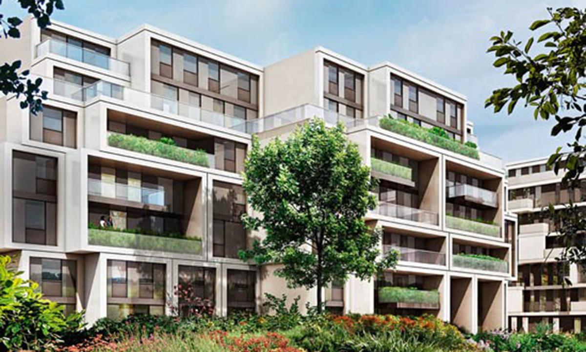 techlogis Ingenieurbüro Berlin Haustechnik Gebäudeausrüstung Gebäudeleittechnik The Garden Wohnungen Berlin