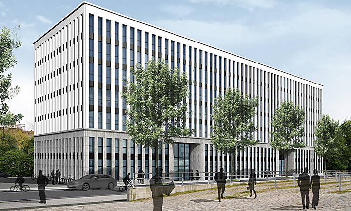 techlogis Ingenieurbüro Berlin Kälteanlagen Lüftungstechnik Lüftungstechnik Planung Bürohaus Hochtief